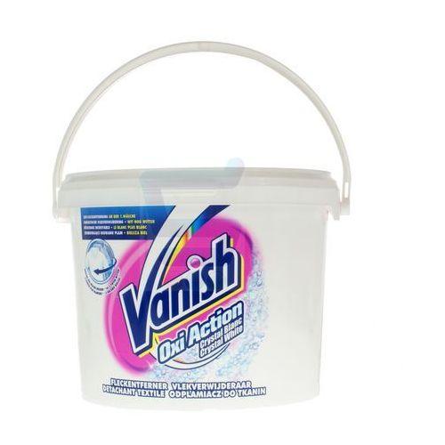 VANISH Proszek Odplamiacz do Tkanin 2,4 kg Oxi Action Crystal White (wybielacz i odplamiacz do ubrań) od Supe