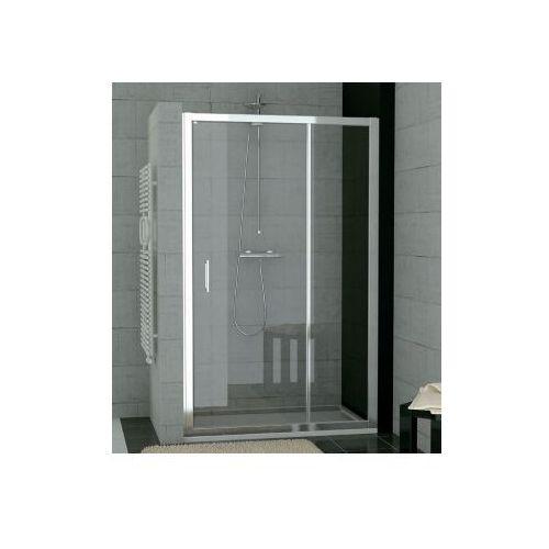 SANSWISS TOP-LINE drzwi otwierane z elementem stałym 100 TED10005007 (drzwi prysznicowe)