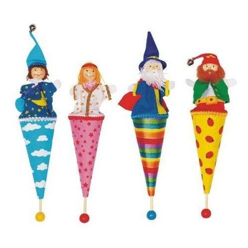 Kolorowa kukiełka do zabawy dla dzieci (pacynka, kukiełka)