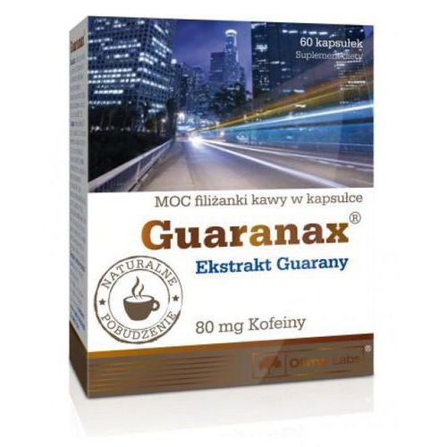 [kapsułki] Olimp Guaranax kapsułki, 60 szt.