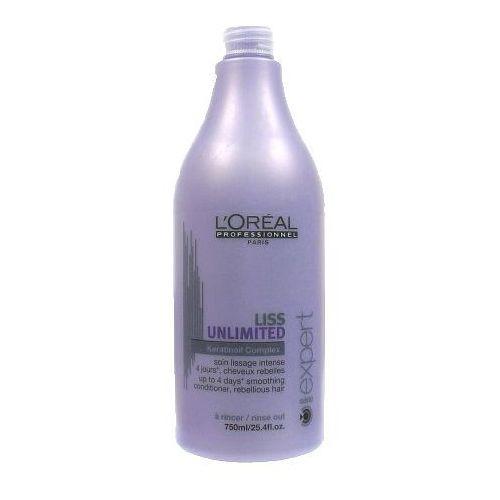 L'Oreal LISS UNLIMITED CONDITIONER Odżywka intensywnie wygładzająca do włosów niezdyscyplinowanych, kręconych, puszących się oraz suchych (750) - produkt z kategorii- odżywki do włosów