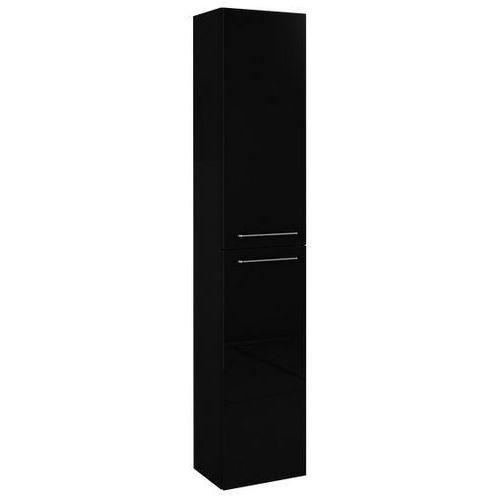 Produkt z kategorii- regały łazienkowe - Elita Barcelona słupek łazienkowy 30x23,6x150 cm czarny 164350