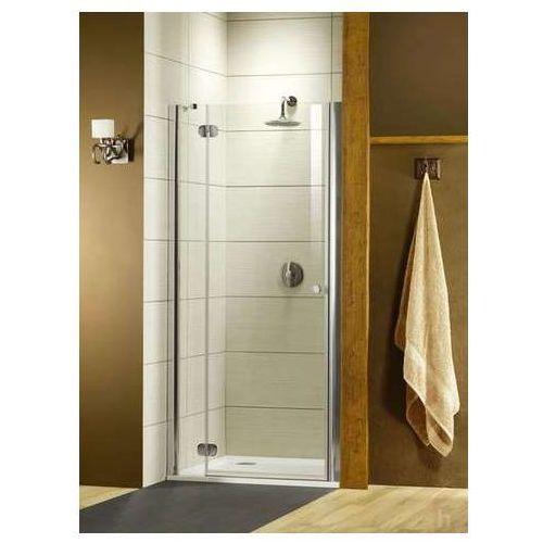 Torrenta DWJ Radaway drzwi wnękowe 900-915x1850 grafitowe lewe - 31900-01-05 (drzwi prysznicowe)