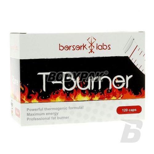 t-burner - 120 kaps. wyprodukowany przez Berserk labs