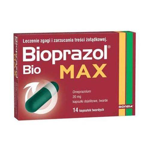 Oferta Bioprazol Bio MAX 20mg 14kaps