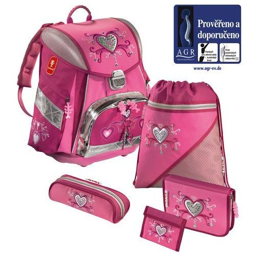 HAMA Step by Step - Zestaw szkolny ''Pink Romance'' - oferta [9513dcae6f131368]