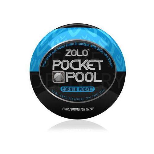 Zolo Pocket Pool Corner Pocket mini masturbator - oferta [1514e2065122048b]