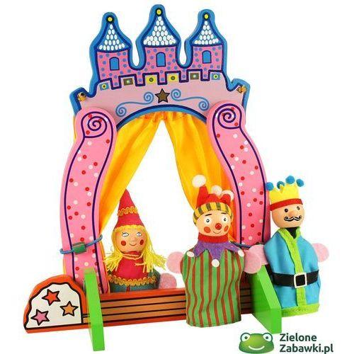 Oferta Mały teatrzyk drewniany z pacynkami, BJ243-Bigjigs Toys (pacynka, kukiełka)