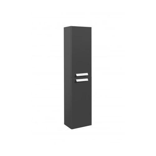ROCA słupek Debba szary antracyt połysk (kolumna wysoka) A856844153 - produkt z kategorii- regały łazienko