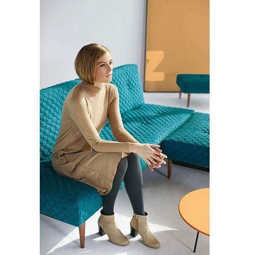 Istyle Fiftynine COZ, sofa rozkładana, PETROL COZ tkanina 611, nogi do wyboru - 741034611