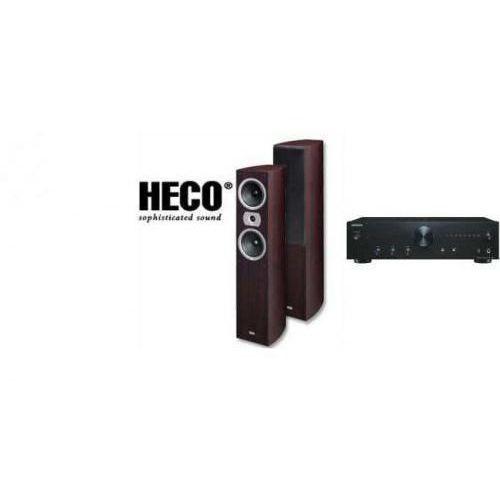 ONKYO A-9010 + HECO VICTA 502 - wieża, zestaw hifi - zmontuj tanio swój zestaw na stronie
