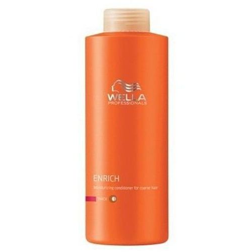 Wella Enrich Conditioner Thick Hair 1000ml W Odżywka do włosów grubych - produkt z kategorii- odżywki do włosów