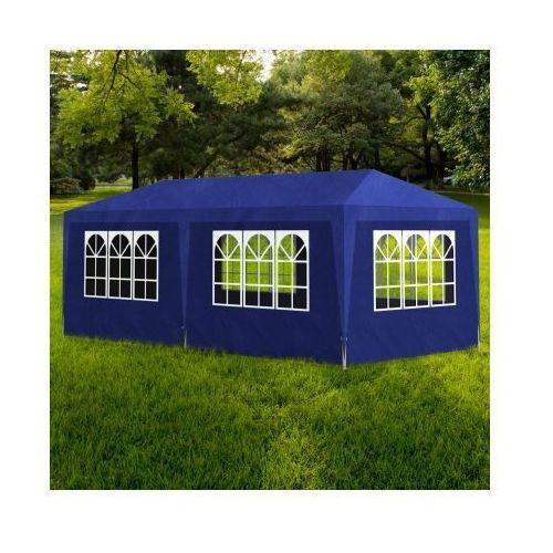 Pawilon ogrodowy, niebieski (3x6 m). - produkt z kategorii- namioty ogrodowe