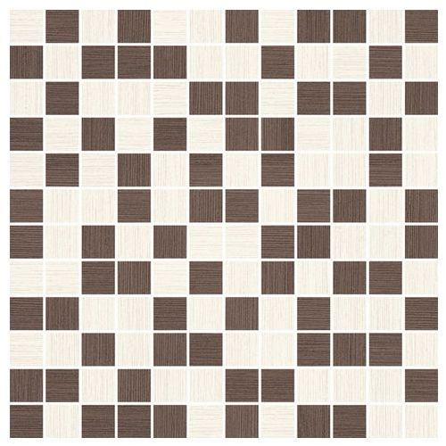 Sottile Bianco/Brown Mix mozaika 29,8x29,8 gat.I (glazura i terakota)