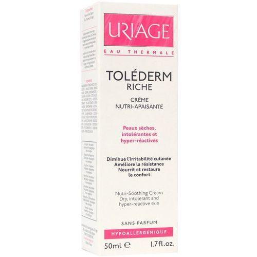 Produkt z kategorii- pozostałe kosmetyki do włosów - Uriage Tolederm Riche 50ml