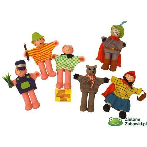 Oferta Postacie z bajek, pacynki na palec, BJ705-Bigjigs Toys (pacynka, kukiełka)
