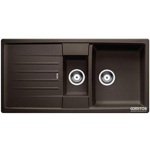Zlew BLANCO LEXA 6S KAWOWY (korek manualny, odsączarka stalowa) 515061 //zamów wycięcie otworów gratis//