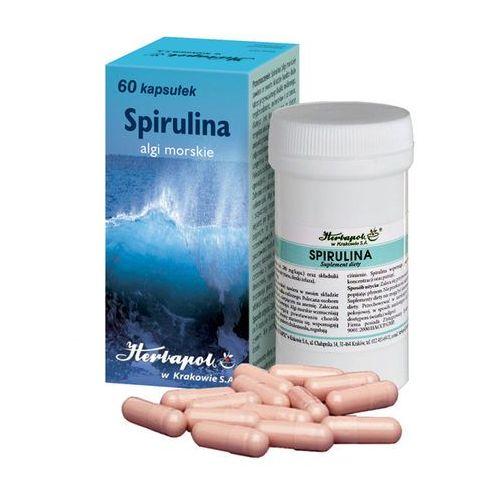 [kapsułki] Spirulina kaps. - 60 kaps. (pojemnik)