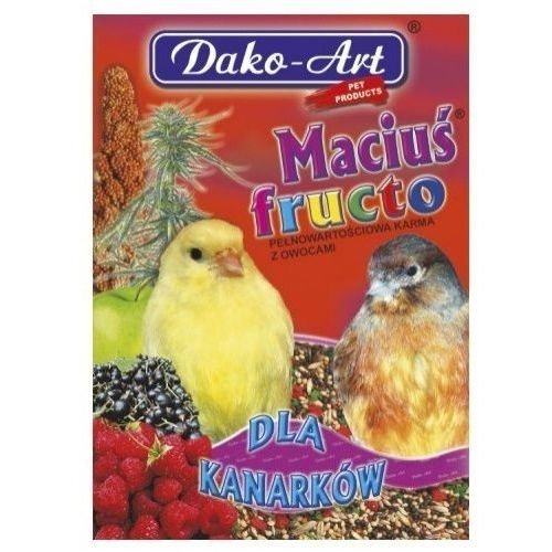 DAKO ART Maciuś Fructo 500g dla kanarka