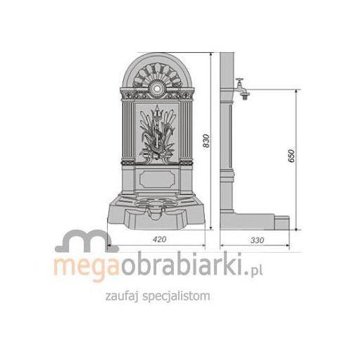 POLSKA HP Umywalka ogrodowa UM-3 RATY 0,5% NA CAŁY ASORTYMENT DZWOŃ 77 415 31 82 od Megaobrabiarki - zaufaj specjalistom