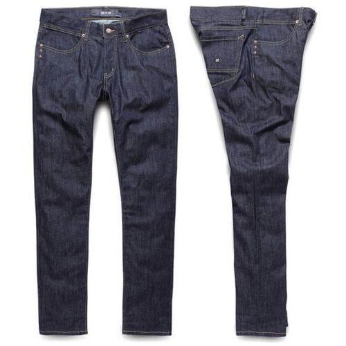 spodnie KREW - K Slim Taper Raw Blue (RAW) rozmiar: 34 - produkt z kategorii- spodnie męskie