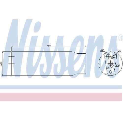 Towar z kategorii: osuszacze powietrza - Osuszacz, klimatyzacja NISSENS 95170