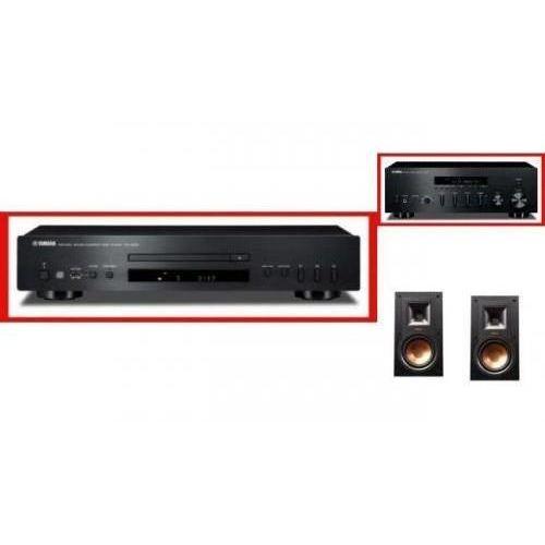 YAMAHA R-S500 + CD-S300 + KLIPSCH R-15M - Tanie Raty za 1%