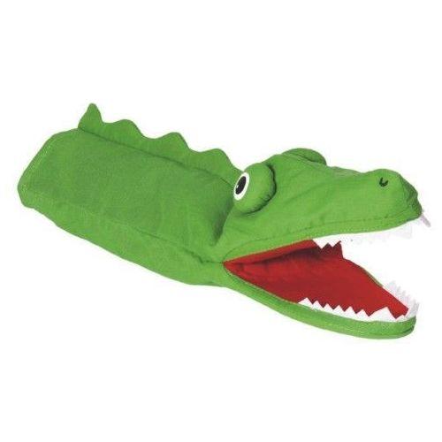Pacynka na dłoń dla dzieci- Krokodyl (pacynka, kukiełka)