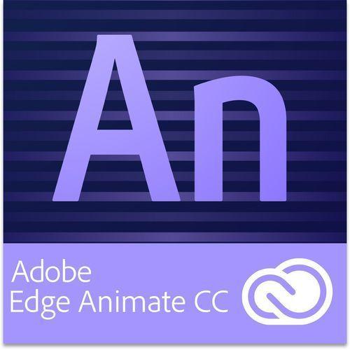 Adobe Edge Animate CC dla użytkowników wcześniejszych wersji - Subskrypcja - produkt z kategorii- Pozostałe oprogramowanie