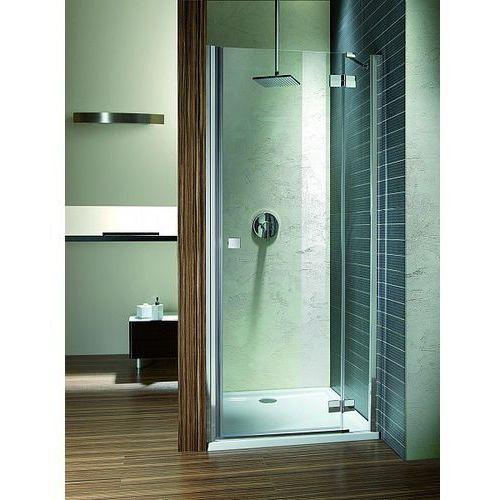 Almatea DWJ Radaway drzwi wnękowe prawe szkło grafitowe 109-111x195cm - 31312-01-05N (drzwi prysznicowe)