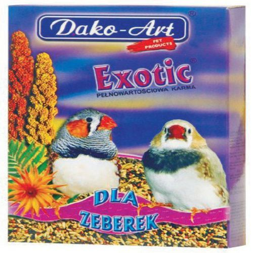 DAKO ART Exotic Pokarm dla zeberek