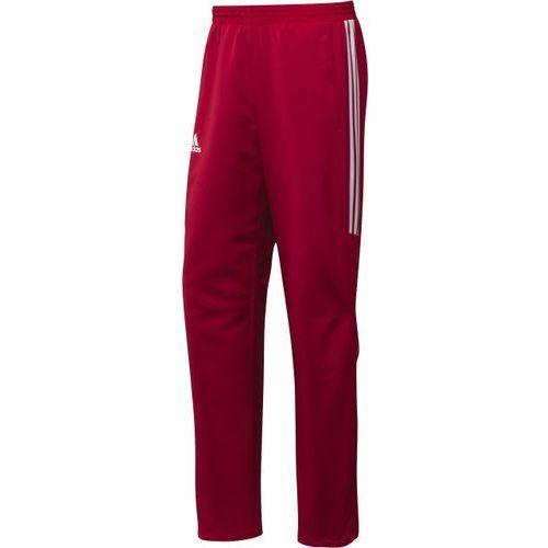 Spodnie sportowe ADIDAS T12 TEAM Pant męskie czerwone - produkt z kategorii- spodnie męskie
