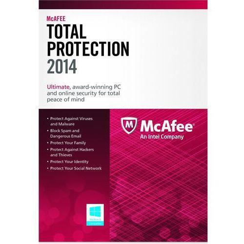 McAfee Total Protection 2014 KEY 1 PC - produkt z kategorii- Pozostałe oprogramowanie