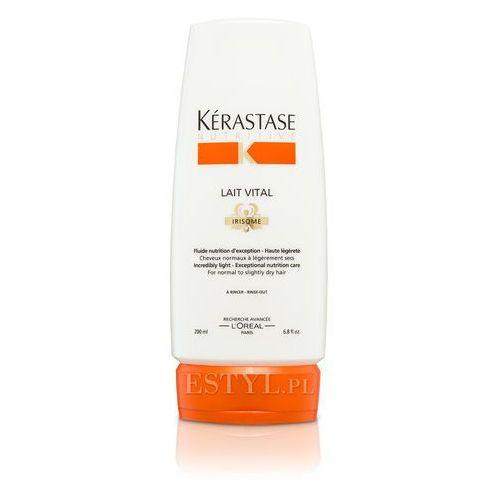 Kerastase Lait Vital - Mleczko proteinowe do włosów lekko suchych, normalnych 200 ml - produkt z kategorii- odżywki do włosów