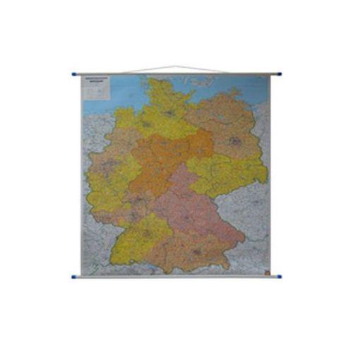 Niemcy mapa ścienna kody pocztowe 1:700 000  & Berndt, produkt marki Freytag
