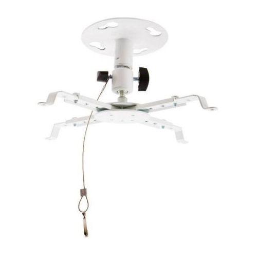 Uchwyt sufitowy do projektorów uchylny/obrotowy, max.8kg, biały od producenta 4world