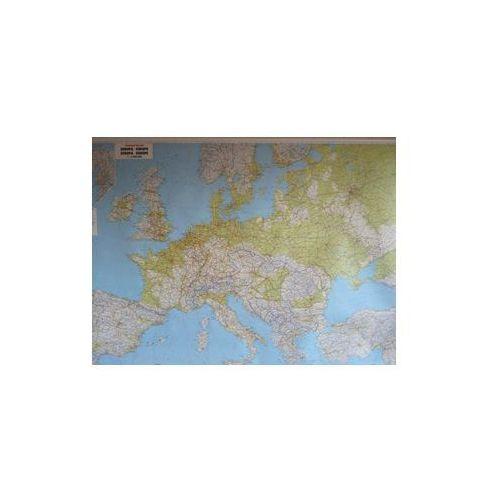 Europa mapa ścienna fizyczna 1:2 600 000 &Berndt, produkt marki Freytag