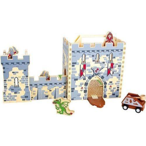 Zamek rycerski w walizce - zabawka dla dzieci - produkt dostępny w www.epinokio.pl