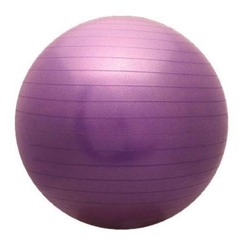 Piłka fitness  Classic 85 cm fioletowa, produkt marki ATHLETIC24