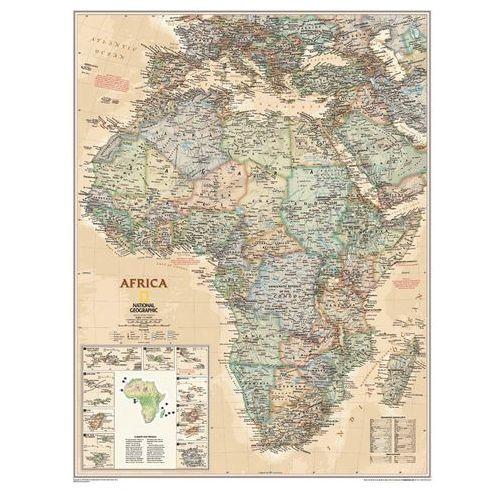 Afryka. Mapa ścienna polityczna Executive 1:14,2 mln wyd. , produkt marki National Geographic