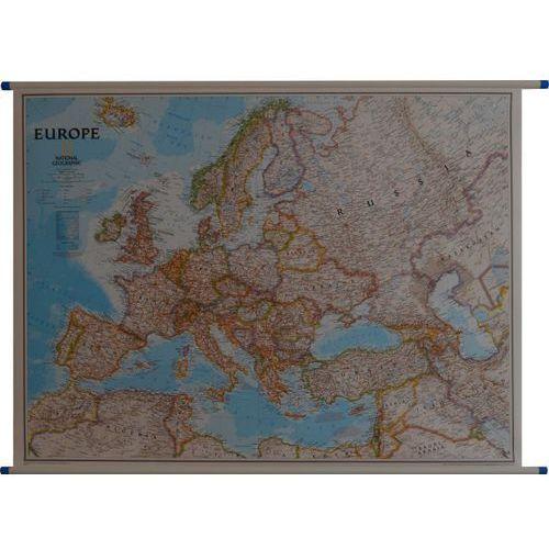 Europa Polityczna Classic mapa ścienna National Geographic, produkt marki National-Geographic