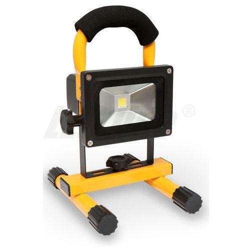 Oferta LED line Naświetlacz przenośny LED 10W Akumulator Li-ion 7,4V - 2600 mAh biały zimny 3905 z kat.: oświetlenie