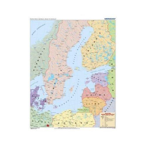 Produkt Kraje basenu Morza Bałtyckiego - mapa polityczna. Mapa ścienna., marki Meridian