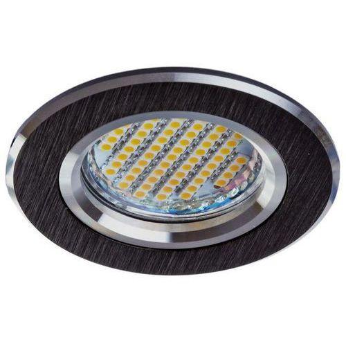 Kobi Oprawa oprawka led halogenowa stała okrągła kolor czarny OH21 3641 z kategorii oświetlenie