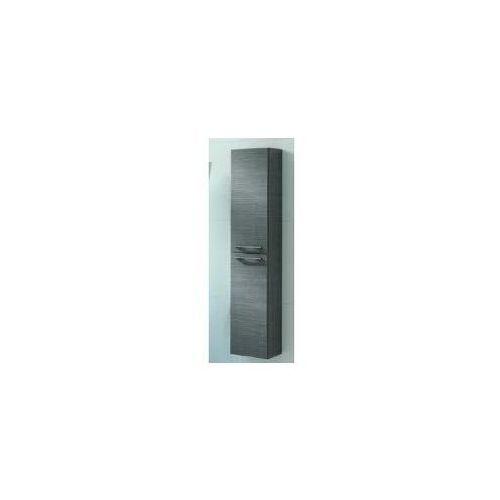 Szafka Elita Barcelona 30 słupek 2D szara 164360 - produkt z kategorii- regały łazienkowe