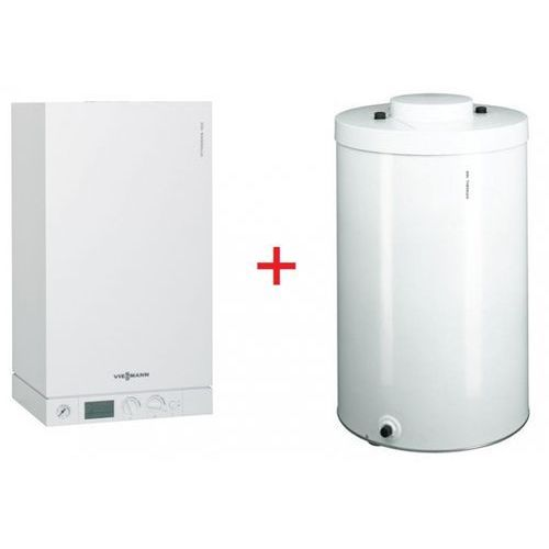 Viessmann VITODENS 100-W 19 kW + Vitocell 100-W (150 Litrów) - (Pakiet), towar z kategorii: Kotły gazowe