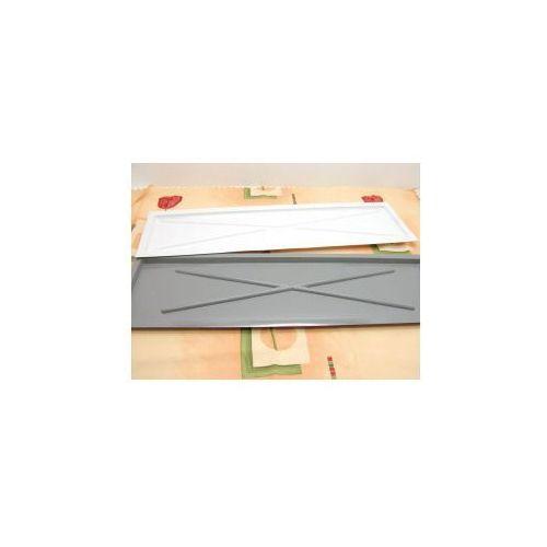 Produkt z kategorii- suszarki do naczyń - Rynienka folia biała twarda 80cm.