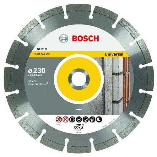 Bosch Tarcza diamentowa 230mm, universal, kup u jednego z partnerów