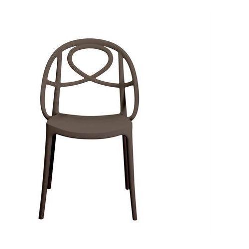 Krzesło ogrodowe Green Etoile brązowe ze sklepu All4home