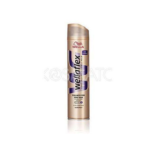 Produkt z kategorii- pozostałe kosmetyki do włosów - Wellaflex Fullness for Fine Hair (Objętość Dla Cienkich Włosów) Lakier, 250 ml